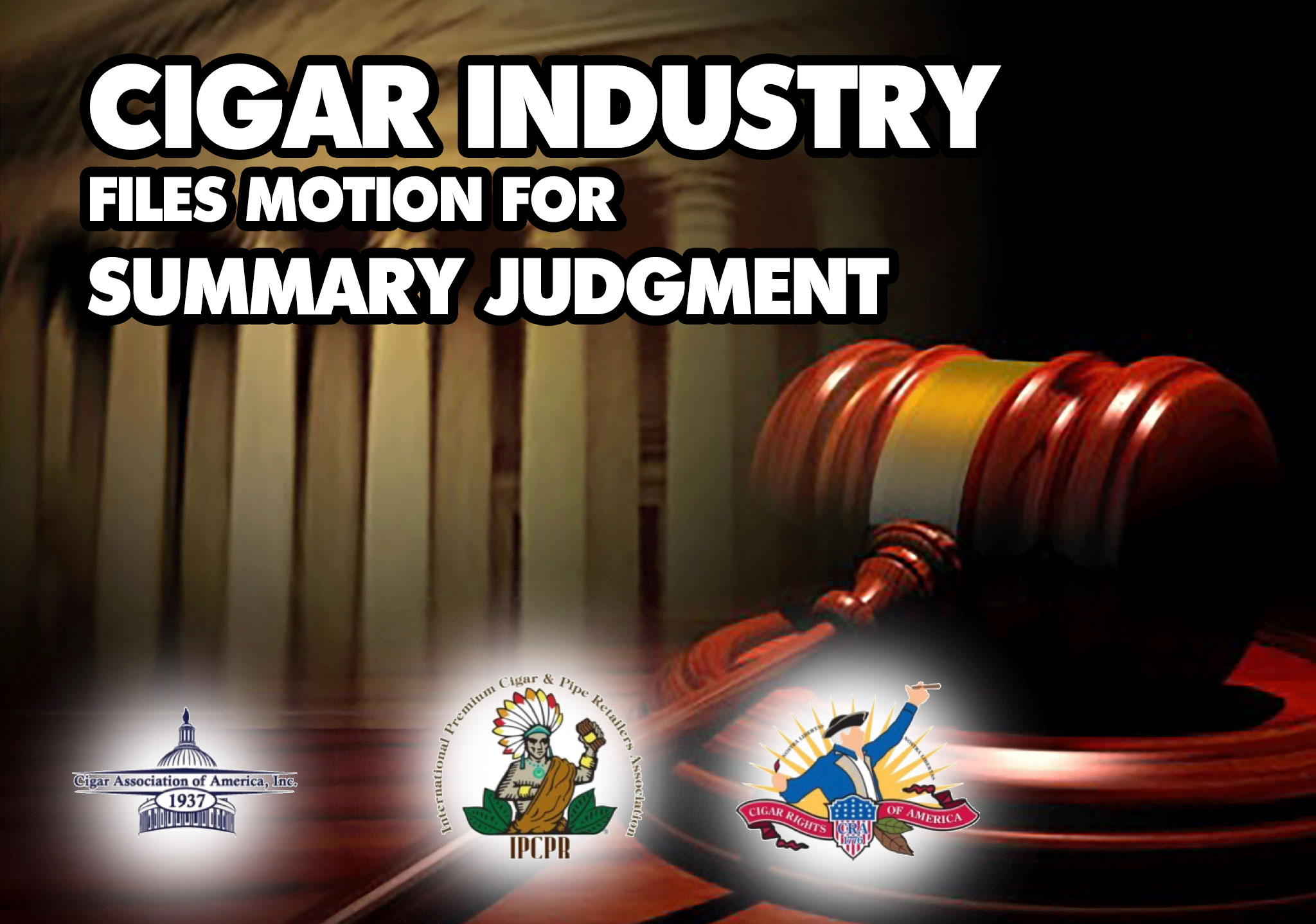 Cigar Industry motions for summery judgement