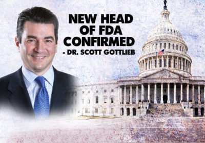 New Head of FDA confirmed
