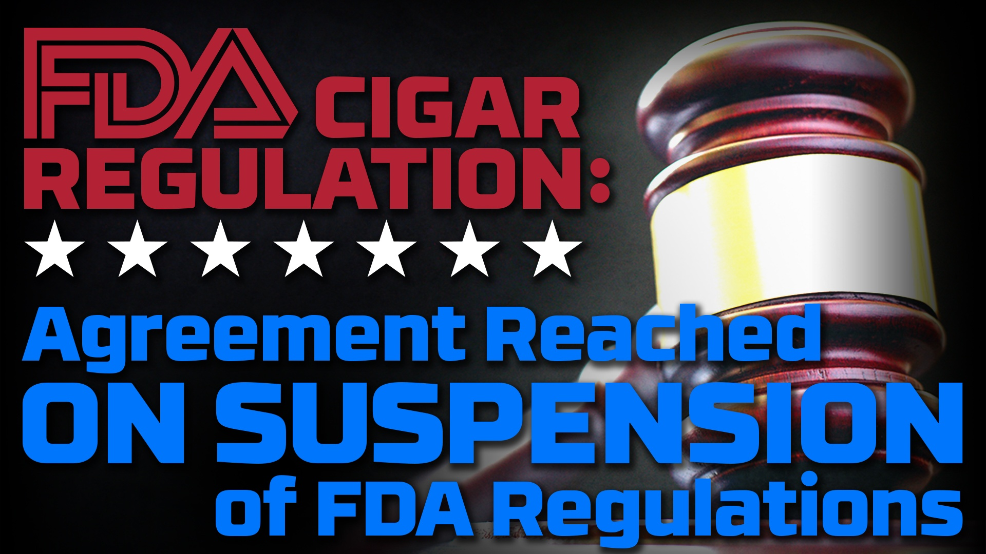 FDA Suspension agreement reached