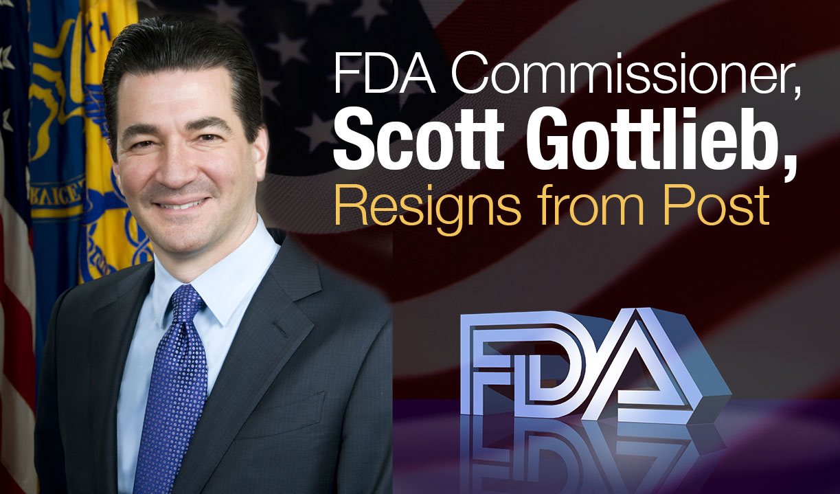 Scott Gottlieb Resigns from FDA