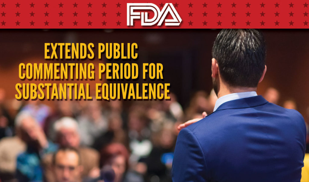 FDA Public Commenting Extebded