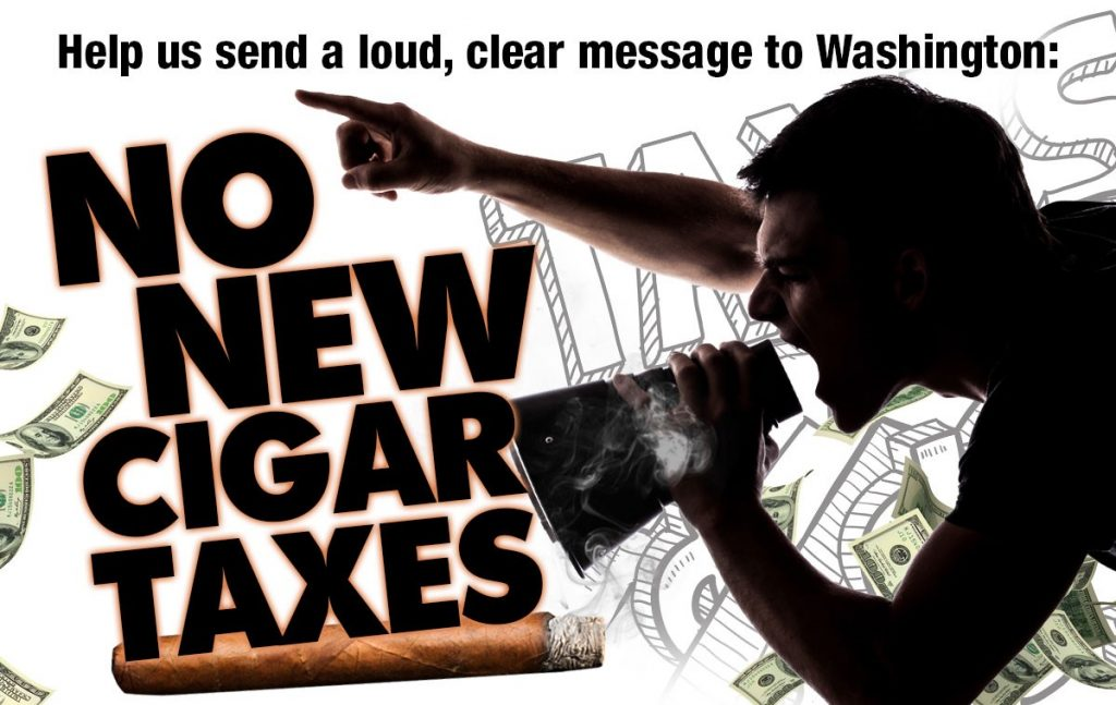 No to New Cigar Taxes 2021 Cover Image